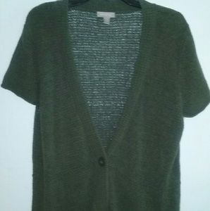 WHITE STAG Green knit sweater